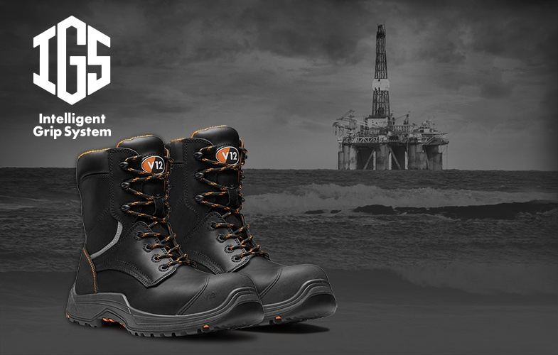 The new zip side safety boot from V12 Footwear - The Avenger IGS