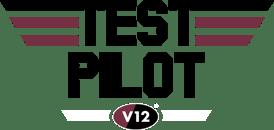 V12 Test Pilot logo