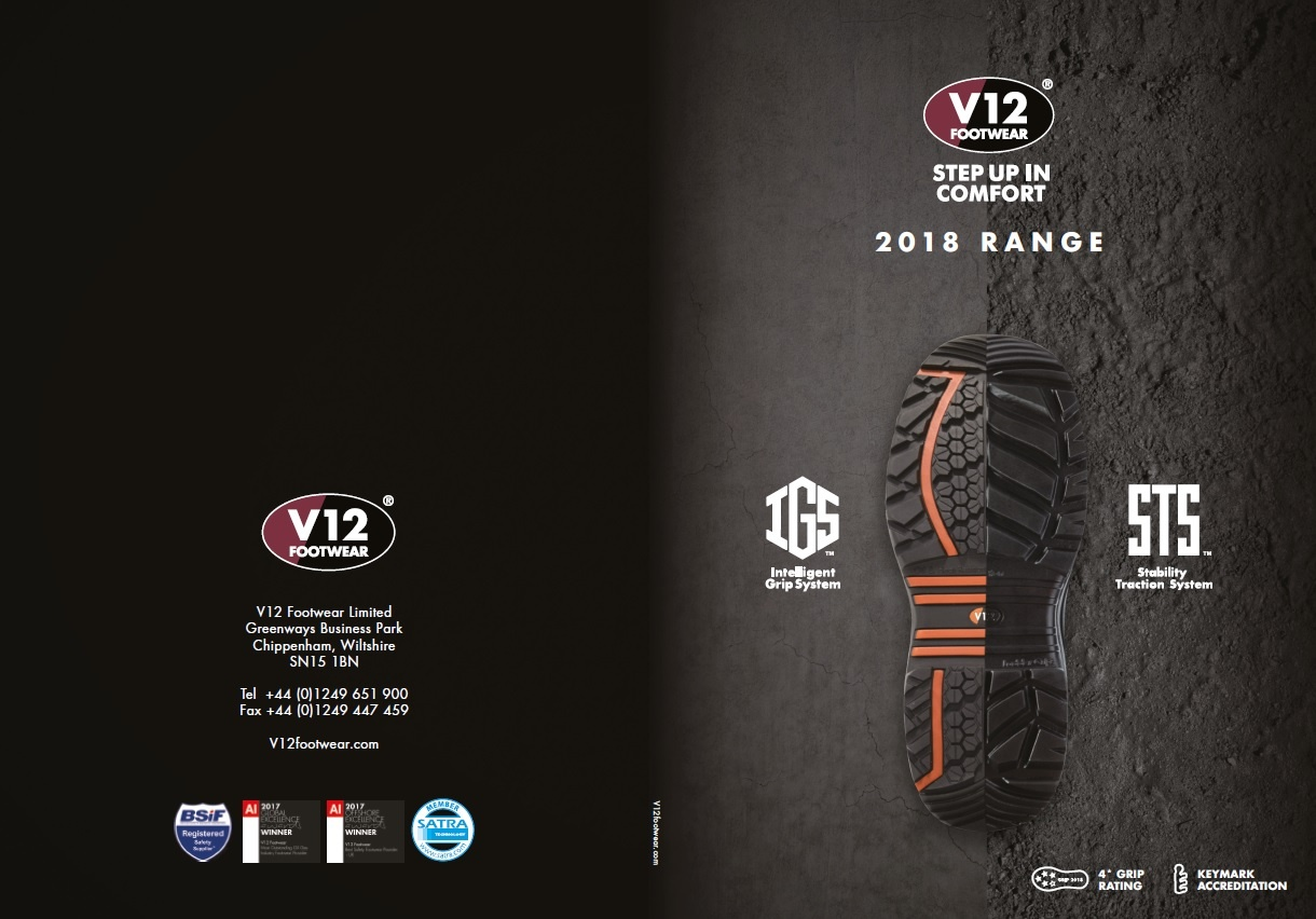 2018 footwear range