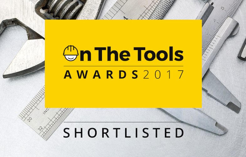 V12 Footwear shortlisted for the 'On the Tools' Awards 2017