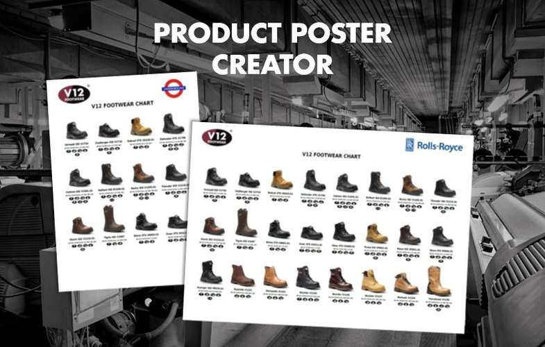 Create your own safety footwear wallchart