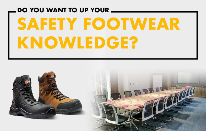 up your safety footwear knowledge with a free v12 training session.