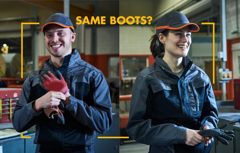 DO WOMEN NEED DIFFERENT FOOTWEAR TO MEN?