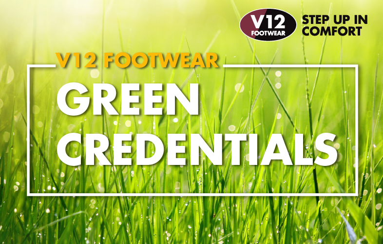V12 Footwear - Green Credentials