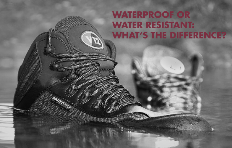 Waterproof or Water Resistant: What's the difference?