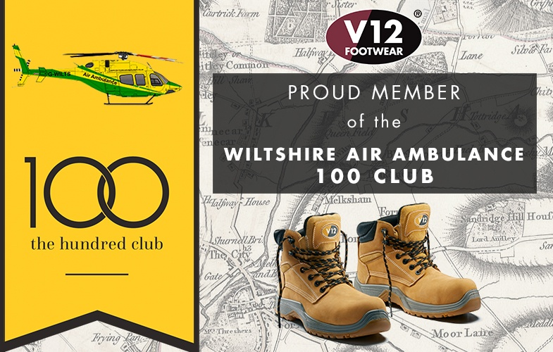 Proud member of the Wiltshire Air Ambulance 100 Club