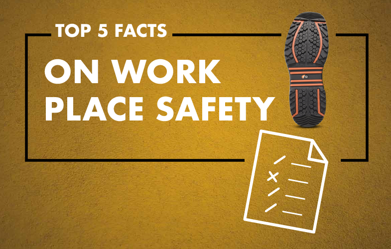 Top 5 Facts on Work Place Safety | V12 Footwear | The Facts Remain