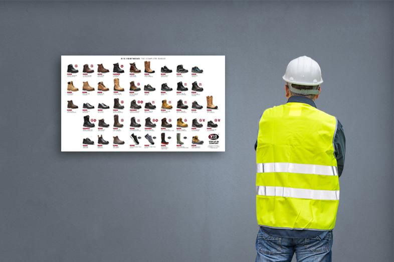 2018 footwear wallchart