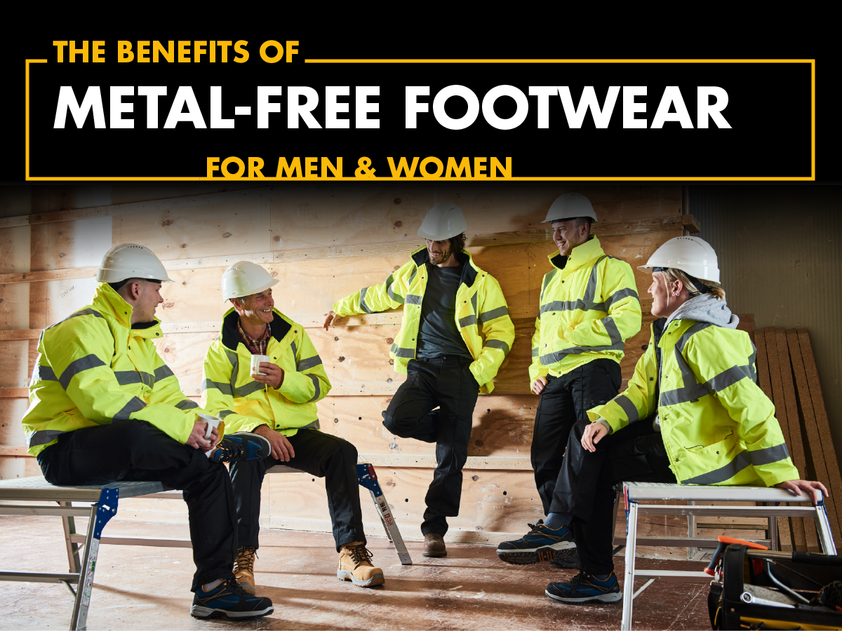 Top 3 benefits of metal-free footwear for men and women