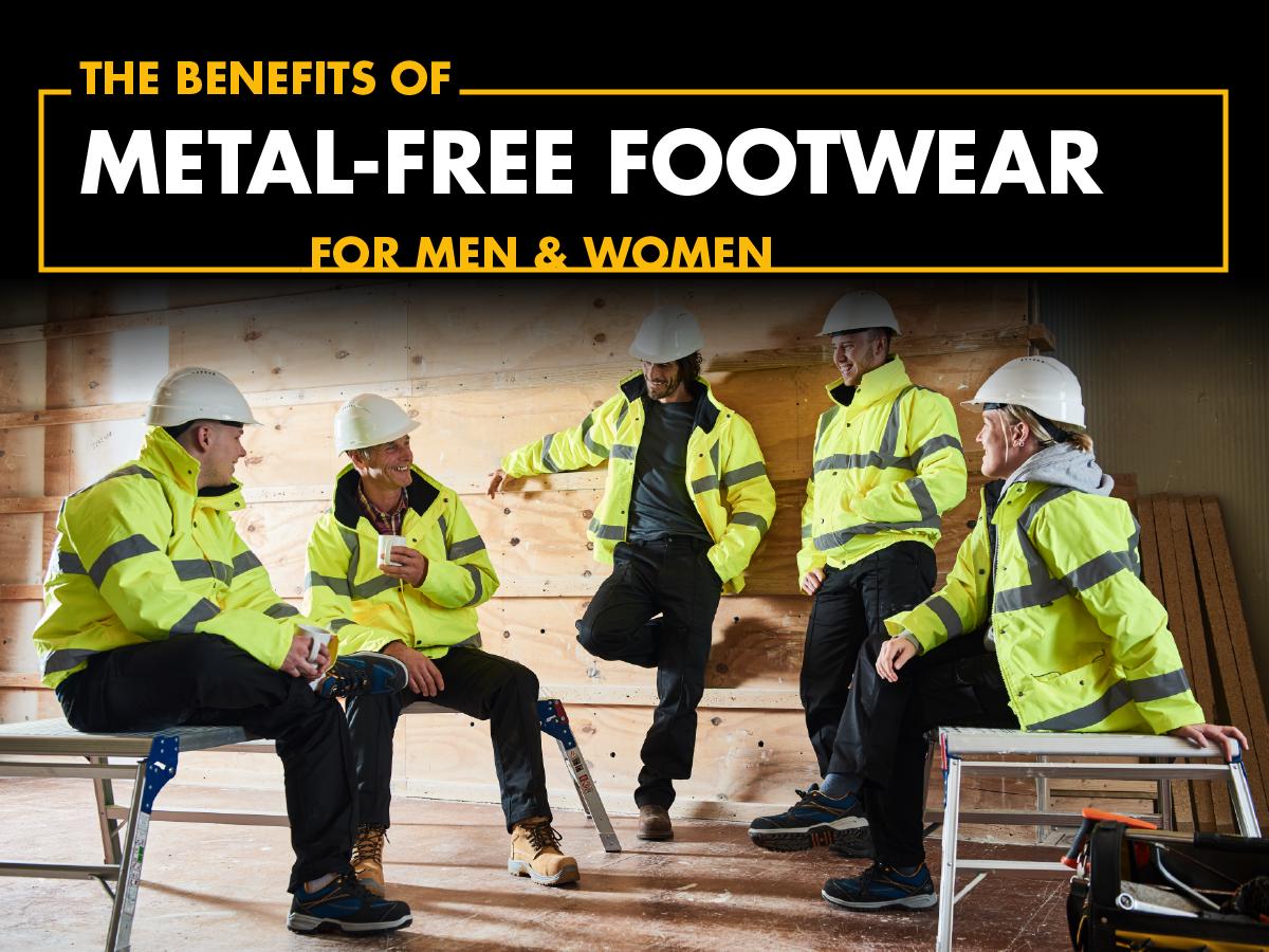 Top 3 benefits of metal-free footwear for men and women
