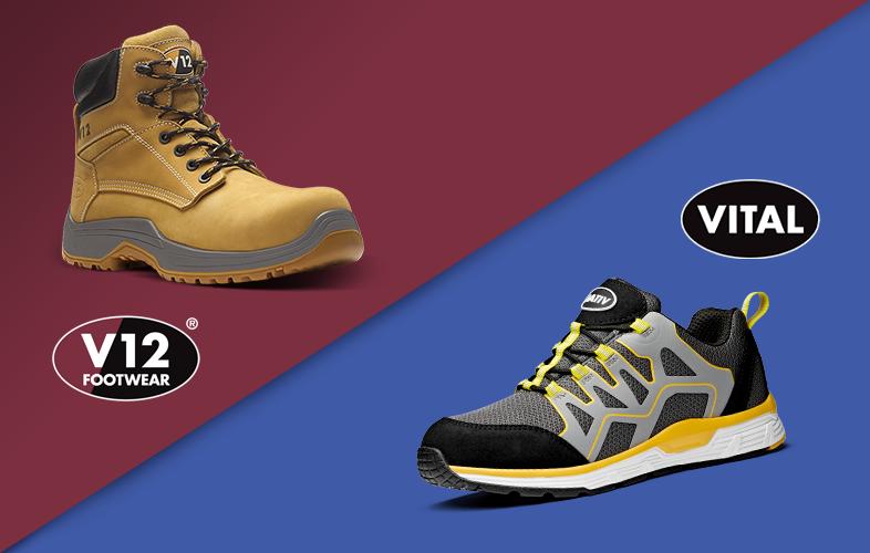 V12 and VITAL - Safety Footwear